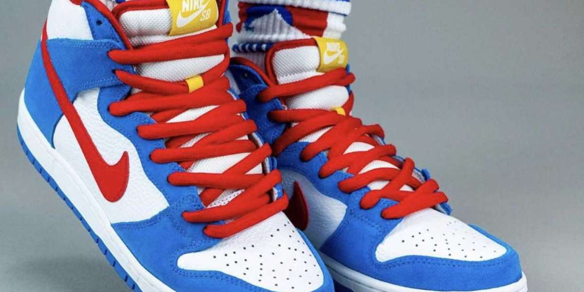 "Where to buy CI2692-400 Nike SB Dunk High ""Doraemon"" Shoes 2020"