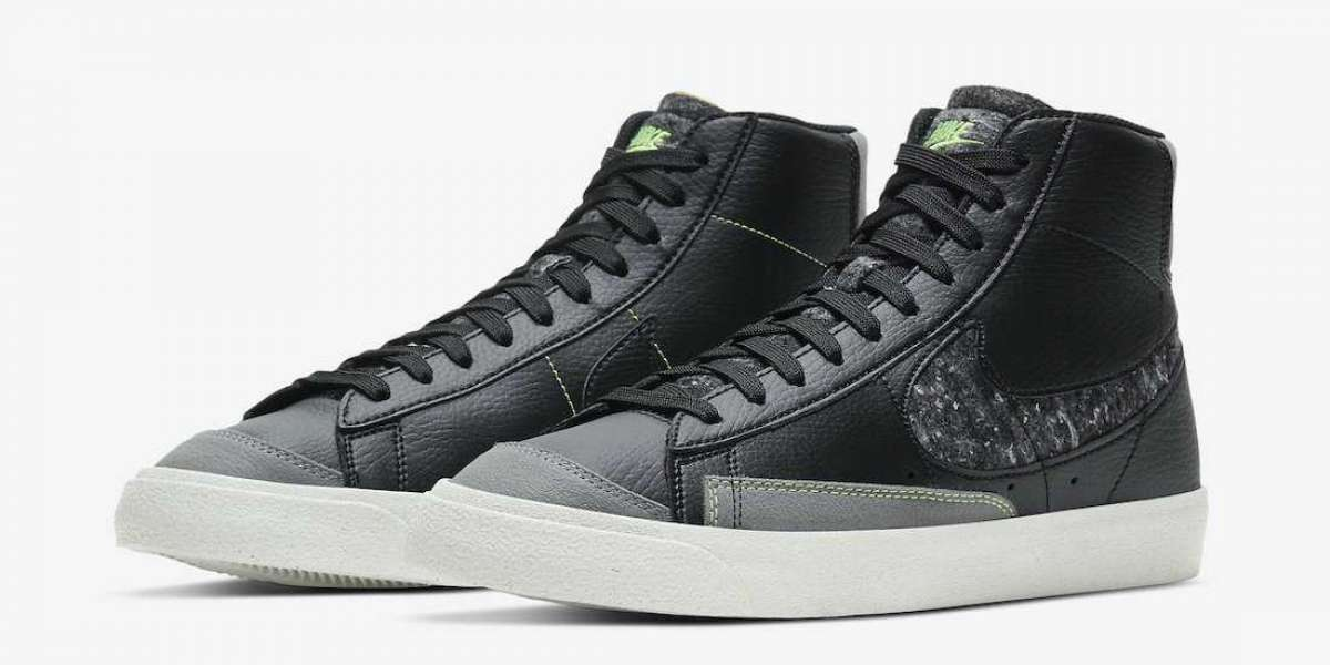 Latest Nike Blazer Mid '77 Vintage Black Smoke Grey CW6726-001 Coming Soon