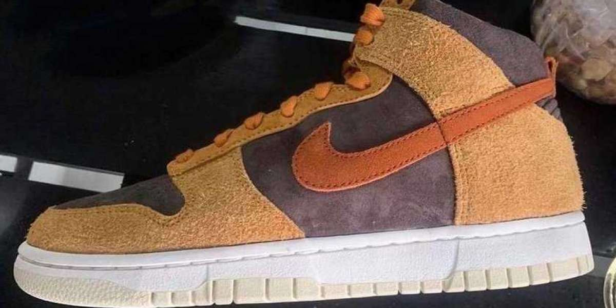 """DD1401-200 Nike Dunk High PRM """"Dark Russet"""" Will Debut On January 28"""