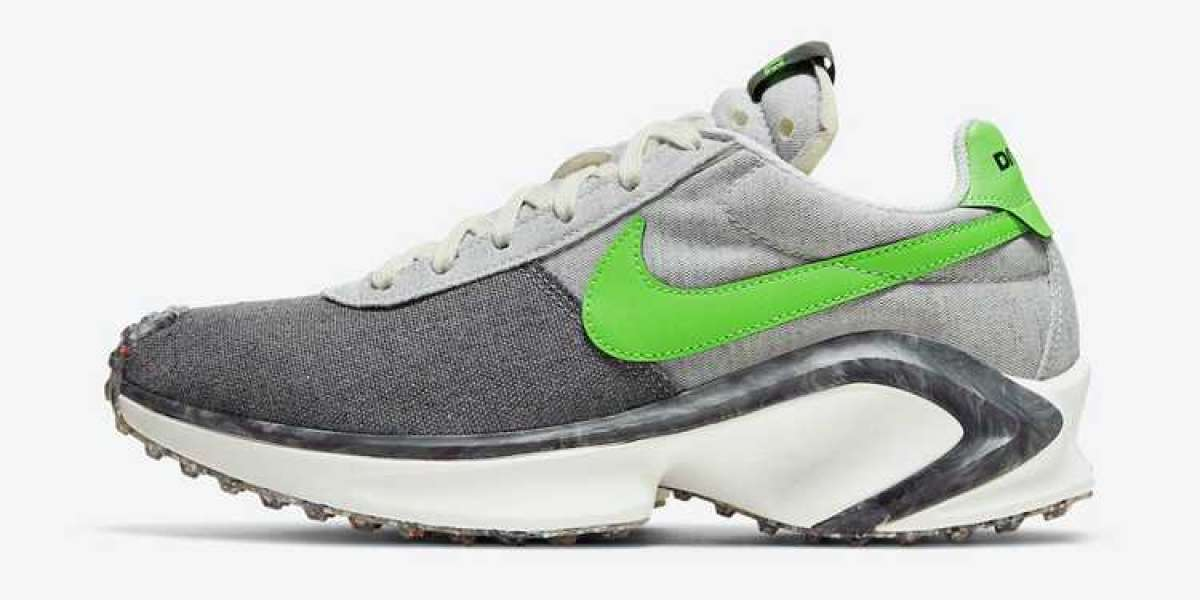 """Nike D/MS/X Waffle """"Mean Green"""" 2021 New Arrival CW6914-001"""