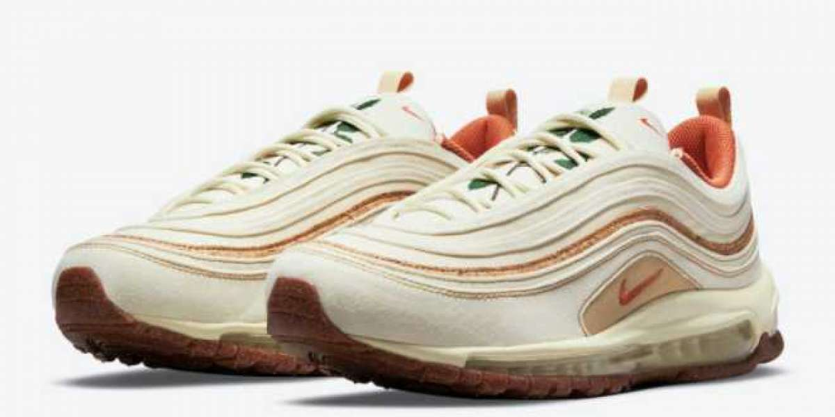 "2021 Nike Air Max 97 ""Cork"" Coconut Milk DC3986-100"